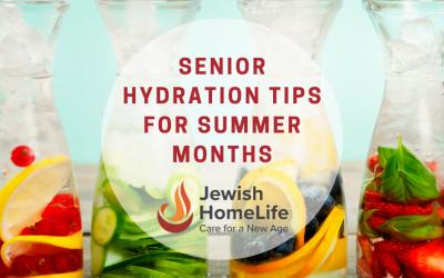 Senior Hydration Tips for Summer Months